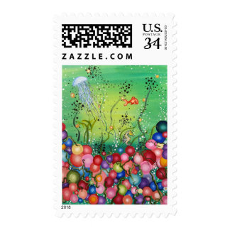 Sea of Color Postage Stamp