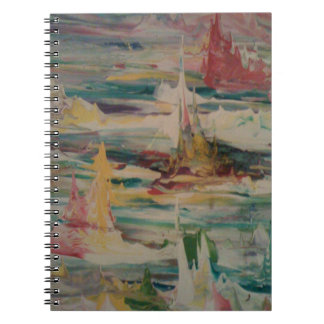 SEA of COLOURS Spiral Notebook