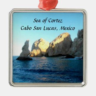 Sea of Cortez Cabo San Lucas Mexico Metal Ornament