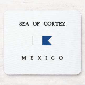 Sea Of Cortez Mexico Alpha Dive Flag Mouse Pad