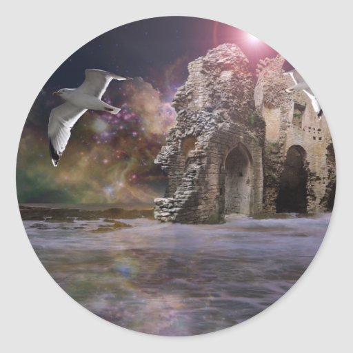 Sea of Dreams Classic Round Sticker
