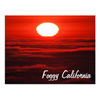 Sea of Fog Postcard