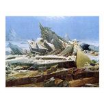 Sea of Ice - Das Eismeer - La Mer de Glaces Postcards