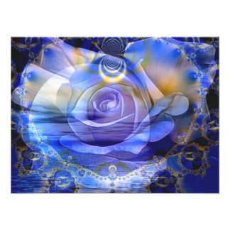 Sea of Love and Serenity - Poster Photo Print