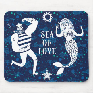 Sea Of Love Poster Mouse Pad