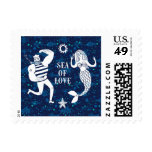 Sea Of Love Poster Postage Stamp
