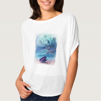 Sea of Love. Woman's classy T-shirt. T-Shirt