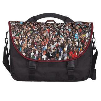 Sea Of People Bag Design By Glenn McCarthy Laptop Computer Bag