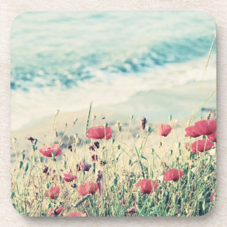 Sea of Poppies Drink Coaster