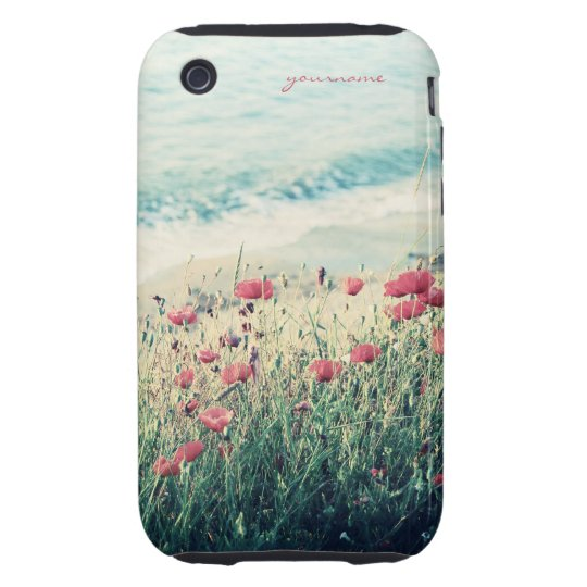 Sea of Poppies iPhone 3 Tough Cover
