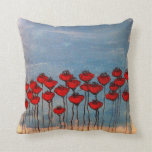 Sea of Poppies Pillow