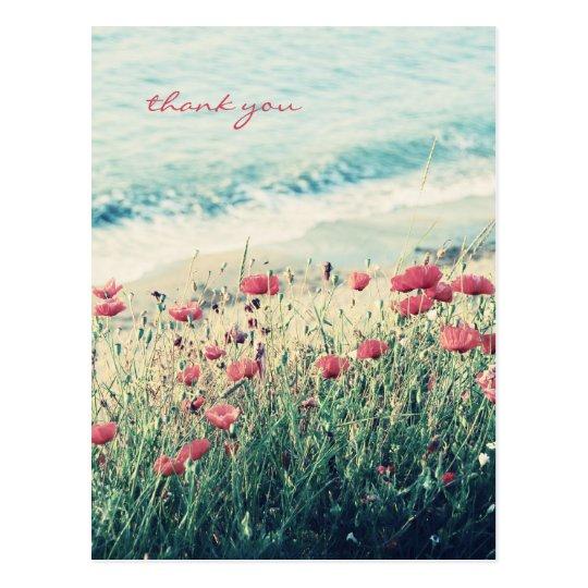 Sea of Poppies Postcard