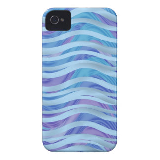 Sea of Ribbons in Blue & Purple Case-Mate iPhone 4 Case