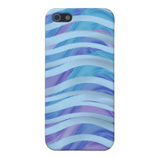 Sea of Ribbons in Blue & Purple iPhone SE/5/5s Case