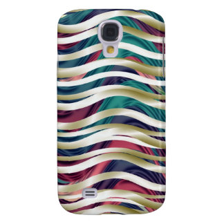 Sea of Ribbons in Gold, Blue & Purple Samsung S4 Case
