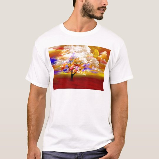 Sea of roses by Lenny clouds surreal T-Shirt