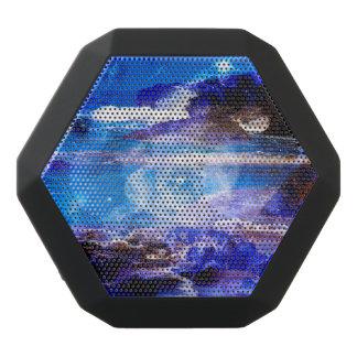 Sea of Serenity Black Bluetooth Speaker
