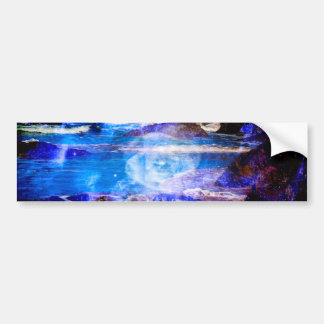 Sea of Serenity Bumper Sticker