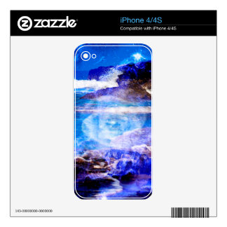 Sea of Serenity Skins For The iPhone 4S