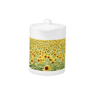 Sea of Sunflowers Teapot