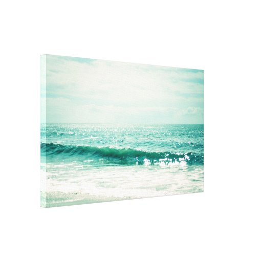 Sea of Tranquility Gallery Wrap Canvas