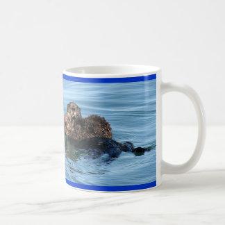 sea-otter-1633x1225-IMG_5365-3-30-05-redo, Sea ... Classic White Coffee Mug