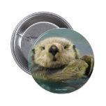 Sea Otter 2 Inch Round Button