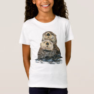 Sea Otter and Pup T-shirt