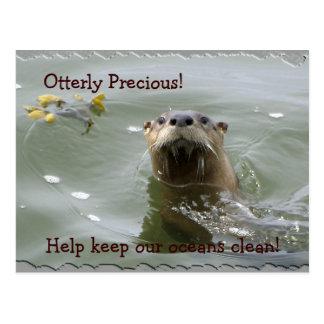 Sea Otter Anti-Pollution Postcard