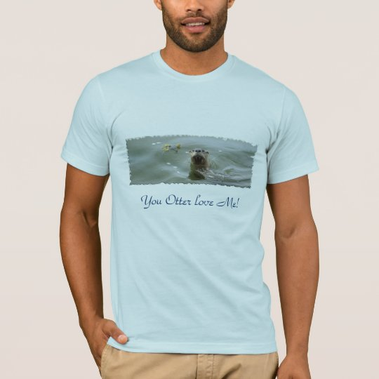 Sea Otter  Anti-Pollution T-Shirts