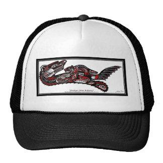 SEA OTTER & BABY (Haida Styled) Gift Range Trucker Hat