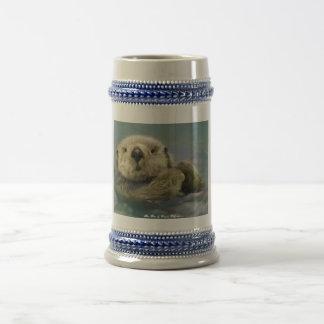 Sea Otter Beer Stein
