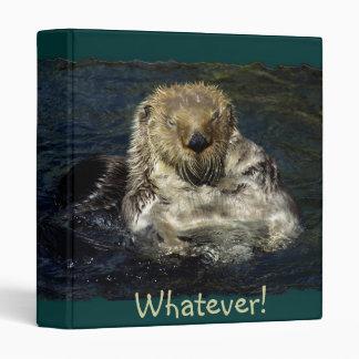 Sea Otter Binder