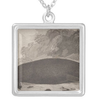 Sea otter, British Columbia Silver Plated Necklace