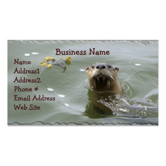 Sea Otter Business Card