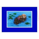 Sea Otter Card