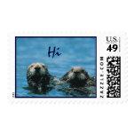 Sea Otter Hi Stamps