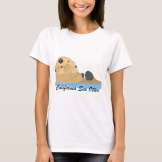 Sea Otter Looks Up T-Shirt
