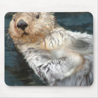 Sea Otter Mouse Pad
