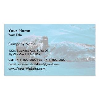 Sea Otter oil Business Card