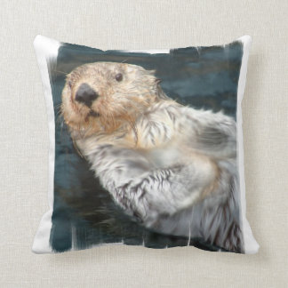 Sea Otter  Pillow