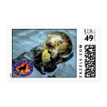 Sea Otter Postage Stamps