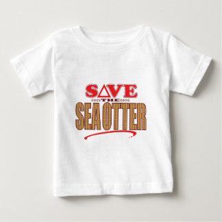 Sea Otter Save Baby T-Shirt