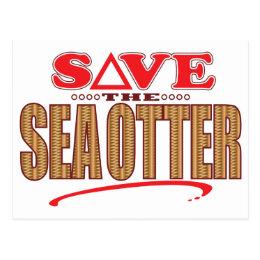 Sea Otter Save Postcard