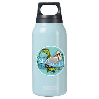 Sea otter-sea world insulated water bottle