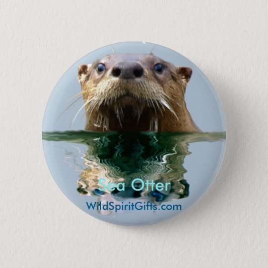 SEA OTTER Series I Pinback Button