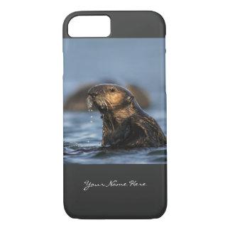 Sea Otter Spy Hopping iPhone 7 Case