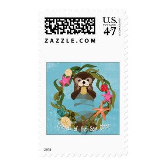 Sea otter Stamp