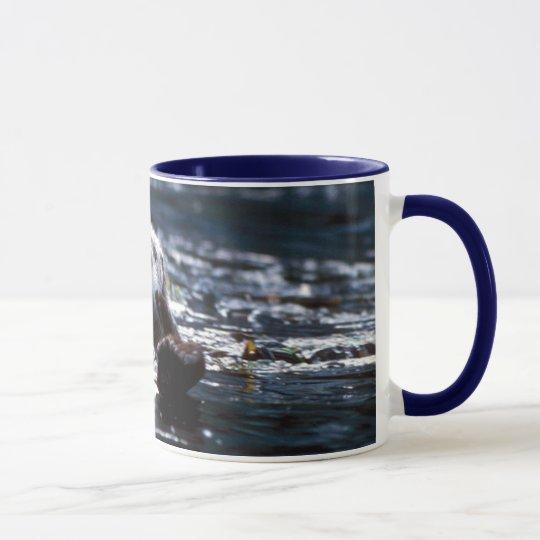 Sea Otter Swimming Mug