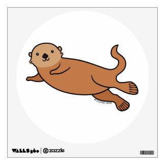 Sea Otter Wall Sticker
